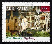 Postage Stamp Australia 2008 The Rocks, Sydney