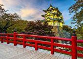 Hirosaki Castle in Aomori, Japan.