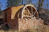 Old Brick Water Mill in Sedona