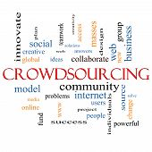 Crowdsourcing Word Cloud Concept