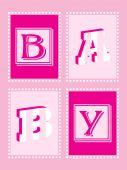Baby Girl Announcement