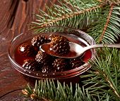 Christmas Confiture From Fir Cones
