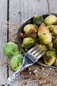 Cooked Brussel Sprouts
