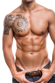 picture of abdominal  - Close - JPG