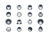stock photo of avatar  - Avatar and people icons - JPG