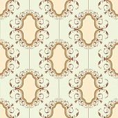 Seamless medallion pattern