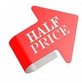 Half Price Twist Label