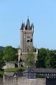 Tower In Dillenburg, Hesse, Germany