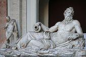 Statue Of River God Arno
