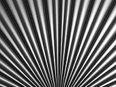 Silver tube metal background 3d illustration