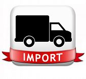 import international and worldwide or global trade on world economy market. importation and exportat