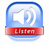 music live stream radio music button icon or listen live on air broadcasting songs program