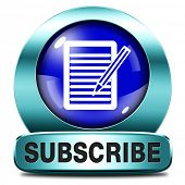 Subscribe here online free subscription and membership for newsletter or blog join today button or i