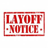 Layoff Notice-stamp