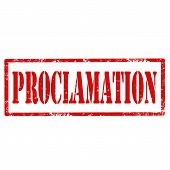 Proclamation-stamp