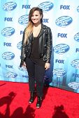LOS ANGELES - MAY 21:  Demi Lovato at the American Idol Season 13 Finale at Nokia Theater at LA Live