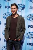 LOS ANGELES - MAY 21:  Phillip Phillips at the American Idol Season 13 Finale at Nokia Theater at LA