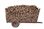 Firewood On A Trailer