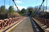 Kalemouth Suspension Bridge