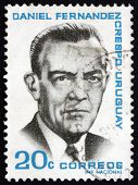 Postage Stamp Uruguay 1966 Daniel Fernandez Crespo, Politician