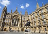 Richard The Lionheart And The Houses Of Parliament