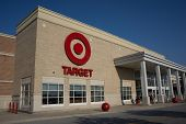 JACKSONVILLE, FL-MAY 22, 2014: A Target store in Jacksonville. Target Corporation is the second-largest discount retailer in the United States and is ranked 36th on the Fortune 500 as of 2013.