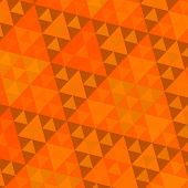 Orange Sierpinski Pattern