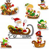 stock photo of rudolph  - Christmas Characters - JPG