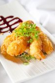 Japanese Style panko Battered Prawns