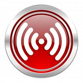 wifi icon, wireless network sign