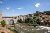 Old Bridge In Toledo, Spain