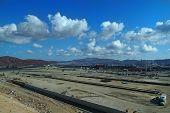 Construction Site Against A Blue Sky