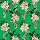 Lilly Pattern Seamless