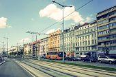 VIENNA, AUSTRIA-July 3 : Viennese Classical style building on July 3, 2014.Vienna, Austria, Europe