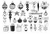picture of teardrop  - Christmas baubles - JPG