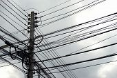 Disarrangement Of Electric Wire