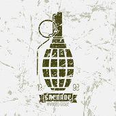 Hand Grenade Print