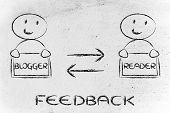 Communication And Feedback Between Blogger And Reader