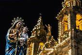 Santa Marija Assunta Procession In Gudja, Malta.