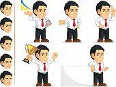Office Worker Customizable Mascot