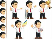 Office Worker Customizable Mascot 7