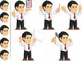 Office Worker Customizable Mascot 10