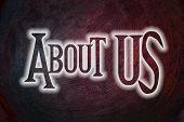 About Us Concept