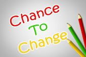 Chance To Change Concept