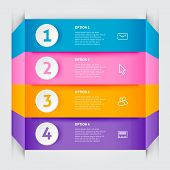 Minimal Colorful Infographics Elements