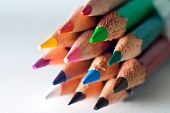 color pencil close-up