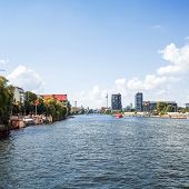 BERLIN, GERMANY- July 30: Tv tower or Fersehturm in Berlin on July 30, 2014. BERLIN, Germany.