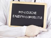 Doctor Shows Information: Myalgic Encephalomyelitis In German