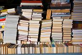 Rows Of Secondhand publications