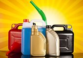 Canisters, Liquids for car